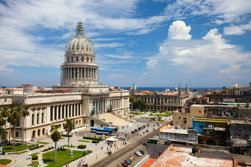Capital Building in Havana